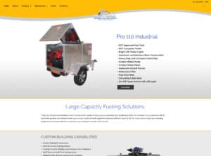 Gas Trailer launches updated e-commerce website