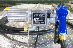 Resettable Fuel Meter and Filter Combo