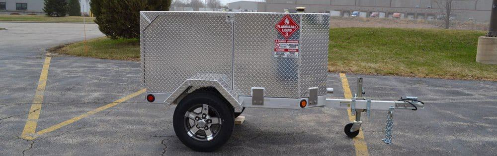 Pro 110 Industrial Portable Fuel Trailer