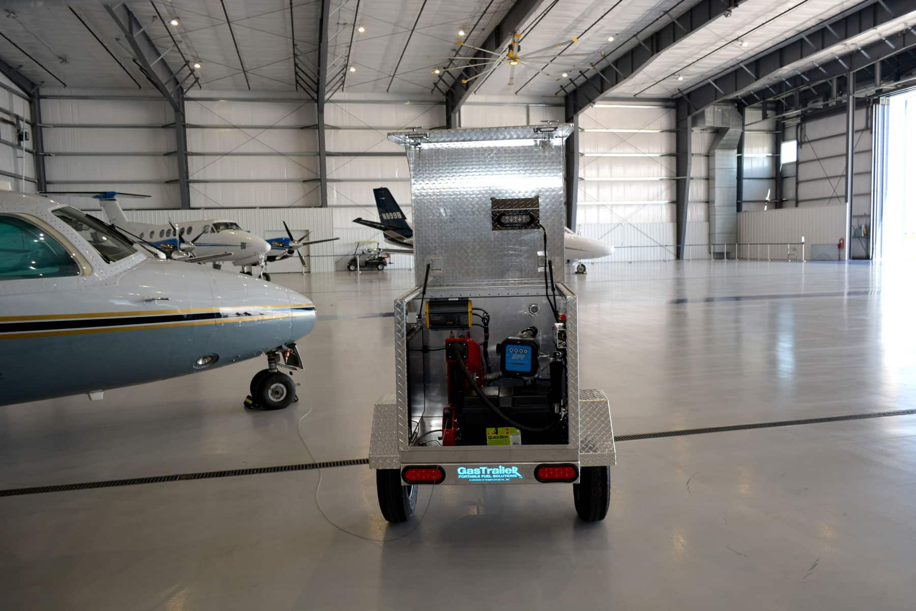 Read more about the article Robinson's portable fuel tank trailer brings gas where it's needed