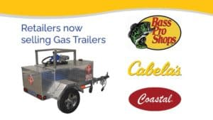 Read more about the article Robinson Gas Trailers available through Bass Pro Shops, Cabela's