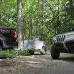Keep your UTVs and ATVs fueled with a trailer mounted gas tank